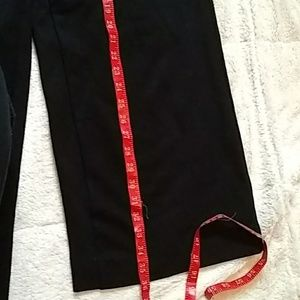 J. Crew Pants - J. Crew Ponte wide-leg crop Patch Pockets Black